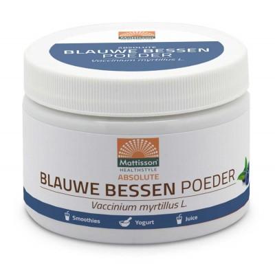 Mattisson Blauwe Bessen Poeder Raw