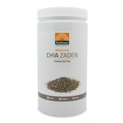 Mattisson Absolute Chia Zaad Raw 1000 gram