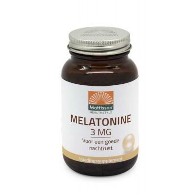 Mattisson Melatonine 3 mg