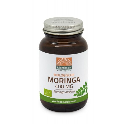 Mattisson Moringa 400mg Raw