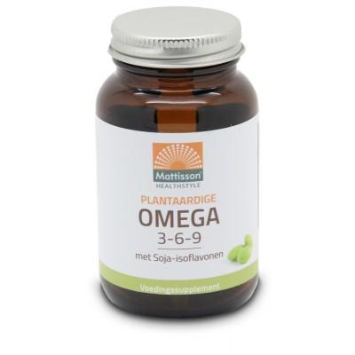 Mattisson Plantaardige Omega 3-6-9 met Soja-isoflavonen