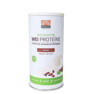 Mattisson Wei Proteïne Cacao Biologisch