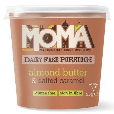 MOMA Instant Havermout Almond Butter & Salted Caramel
