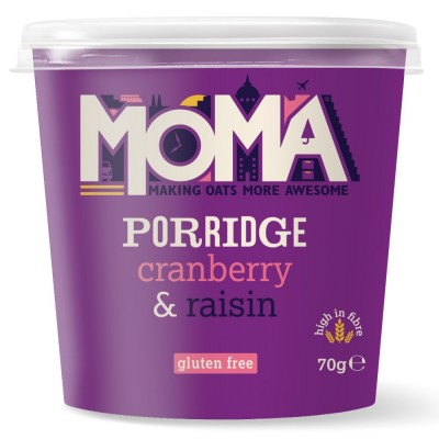 MOMA Instant Havermout Cranberry Rozijnen