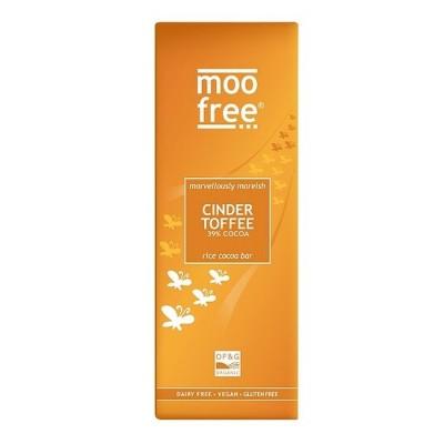 Moo Free Rijstmelk Chocoladetablet Cinder Toffee
