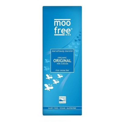 Moo Free Rijstmelk Chocoladetablet Original