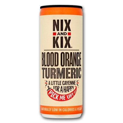 Nix & Kix Blood Orange Turmeric Blikje