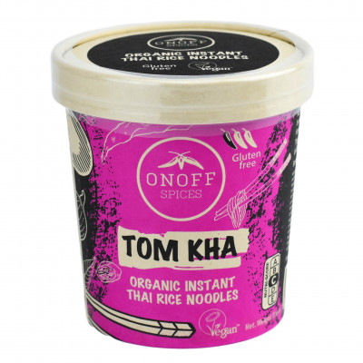 Onoff Spices Instant Thaise Rijst Noodles Tom Kha