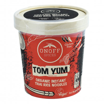 Onoff Spices Instant Thaise Rijst Noodles Tom Yum