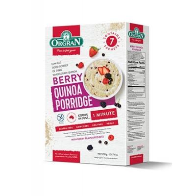 Orgran Quinoa Porridge Berry