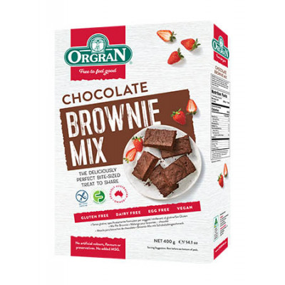 Orgran Chocolade Brownie Mix