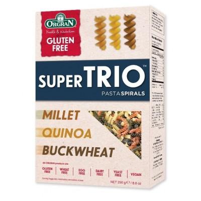 Orgran Super Trio Pasta Fusilli