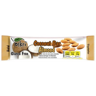Oskri Coconut Bar Almond