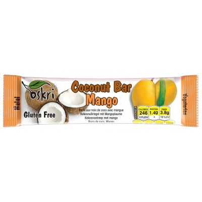 Oskri Coconut Bar Mango