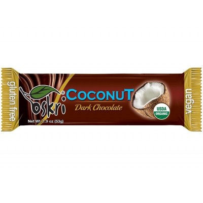 Oskri Coconut Dark Chocolate Bar