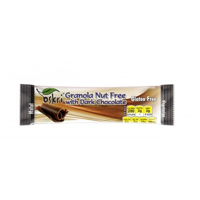 Oskri Granola Nut Free Dark Chocolate
