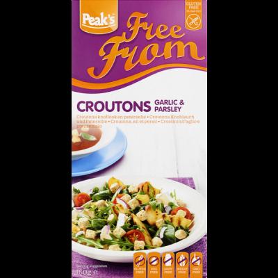 Peak's Croutons Knoflook & Peterselie