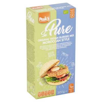 Peak's Vegan Burger Mix Marokkaanse Stijl