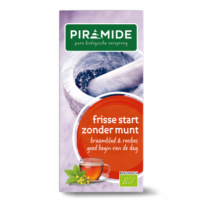 Piramide Frisse Start Zonder Munt Thee