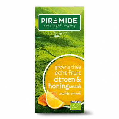 Piramide Groene Thee Citroen & Honingsmaak