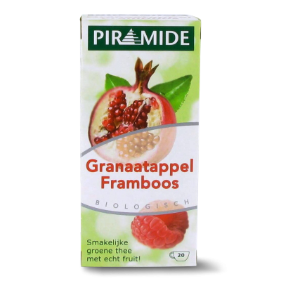 Piramide Granaatappel Framboos Thee