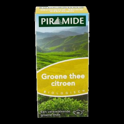 Piramide Groene Thee Citroen