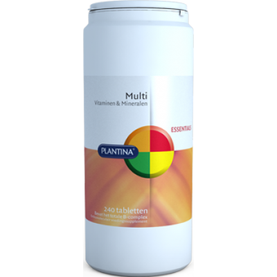 Plantina Multi Vitaminen & Mineralen 240 Tabletten
