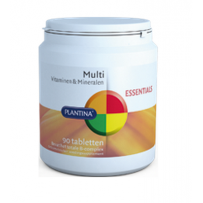 Plantina Multi Vitaminen & Mineralen 90 Tabletten