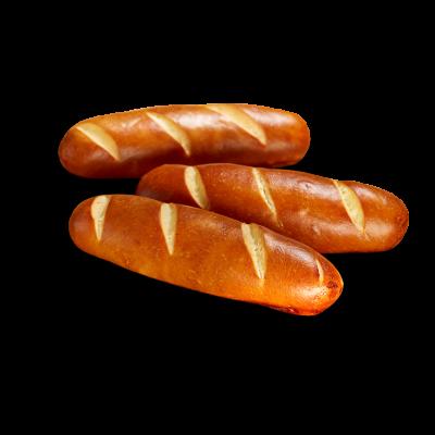 Poensgen Pretzel Broodjes (4 stuks)