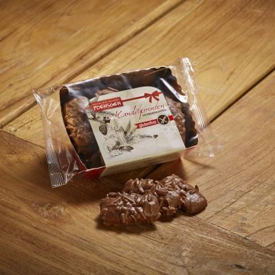Poensgen Amandelkoekjes Melkchocolade