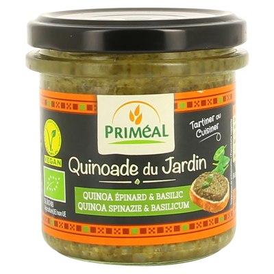 Primeal Quinoa Spread Spinazie & Basilicum