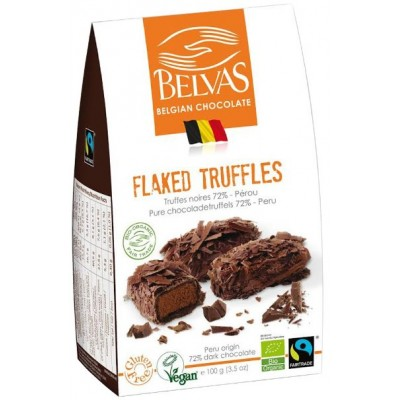 Belvas Pure Chocoladetruffels