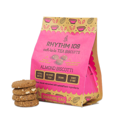 Rhythm 108 Almond Biscotti Biscuits