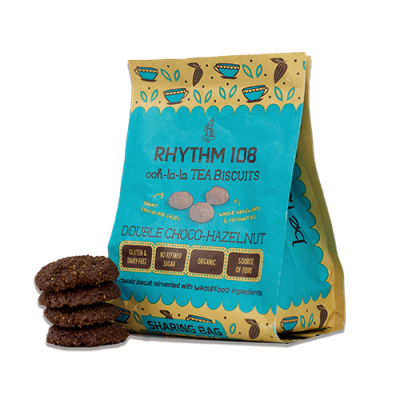 Rhythm 108 Double Choco Hazelnut Biscuits