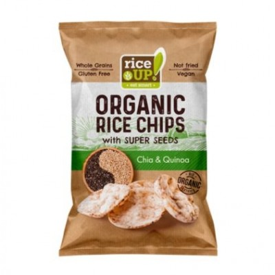 Rice UP Rijst Chips Chia & Quinoa