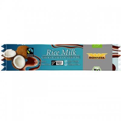 Bonvita Rijstmelk Chocoladereep Met Kokos