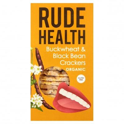Rude Health Buckwheat & Black Bean Crackers