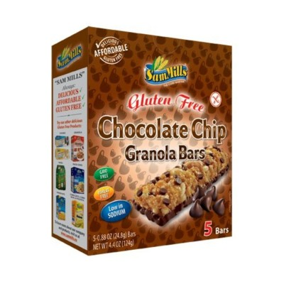 Sam Mills Chocolate Chip Granola Bars