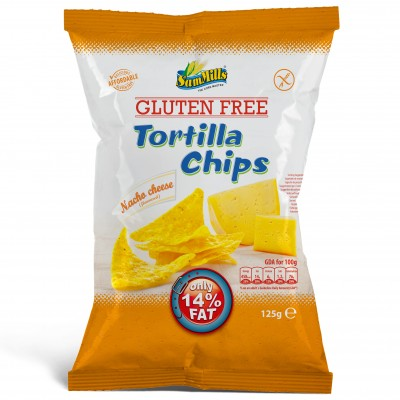 Sam Mills Tortilla Chips Nacho Cheese