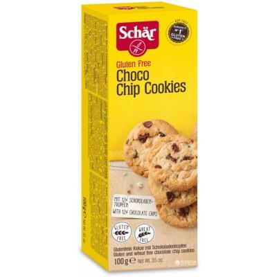 Schar Choco Chip Cookies (doosje)
