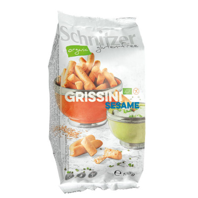 Schnitzer Grissini Sesam (soepstengels)
