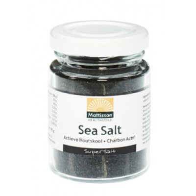 Mattisson Sea Salt Actieve Houtskool