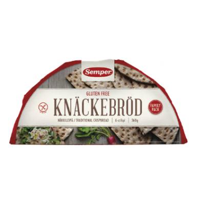 Semper Knackebrod Vezelrijk (halfrond)