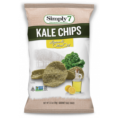 Simply7 Boerenkool Chips Lemon & Olive Oil