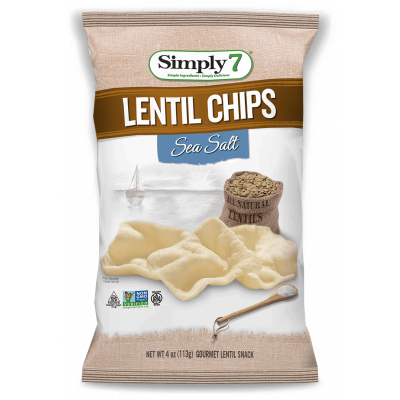 Simply7 Linzen Chips Sea Salt