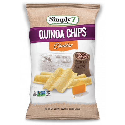 Simply7 Quinoa Chips Cheddar