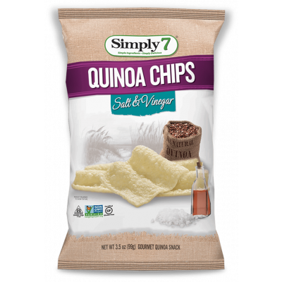 Simply7 Quinoa Chips Salt & Vinegar
