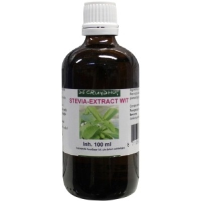 De Cruydhof Stevia-Extract Wit 100 ml
