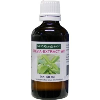 De Cruydhof Stevia-Extract Wit 50 ml