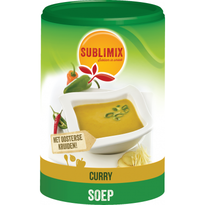 Sublimix Currysoep 432 gram